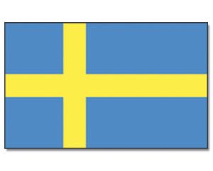 Bildergebnis für schweden flagge