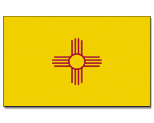 Flagge New Mexico