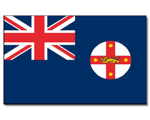 Flagge New South Wales